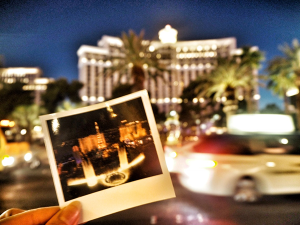 【Las Vegas女子旅】夢のベラッジオ噴水ショーを見ながらのディナー♡
