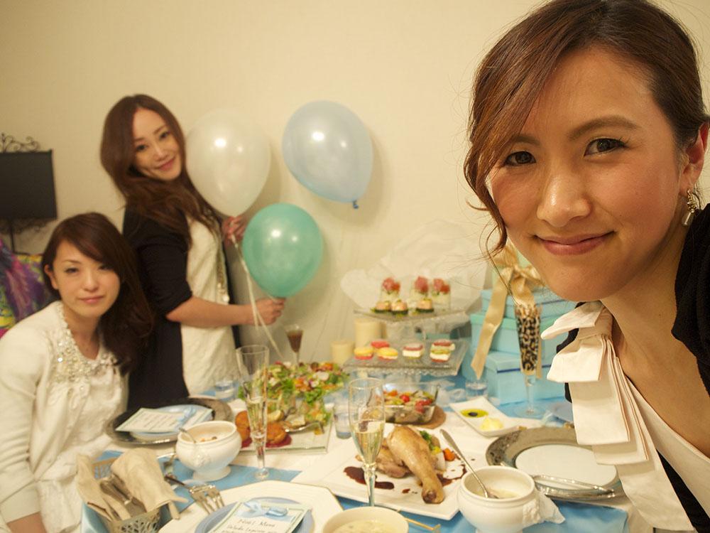 クリスマスパーティー ブルーパーティー 女子会 10