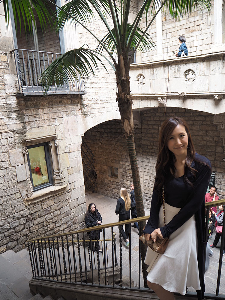 スペイン観光 ピカソ美術館 大人女子旅行 05
