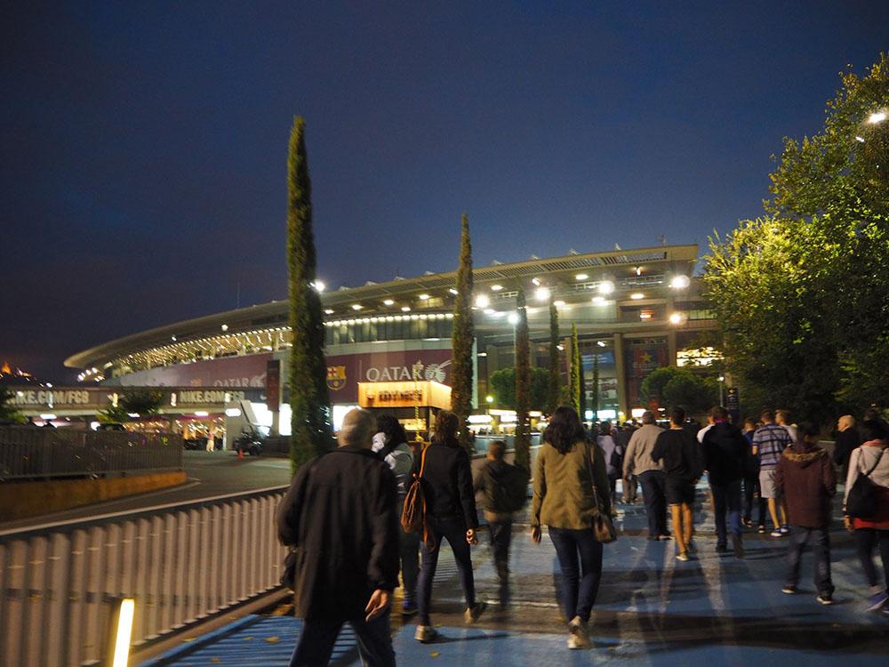 FCバルセロナ スタジアム バルサ スペイン観光