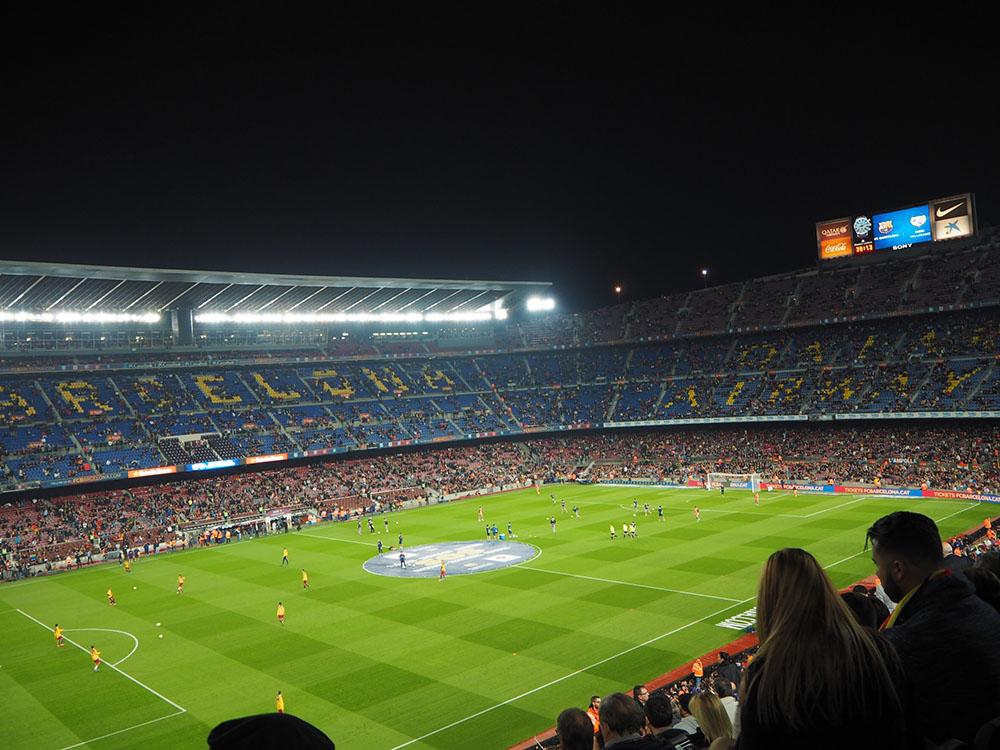 スペイン観光 サッカー観戦 FCB ARCELONA ゴールドチケット