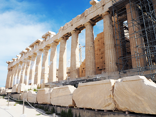 ギリシャの美しすぎる世界遺産【パルテノン神殿】