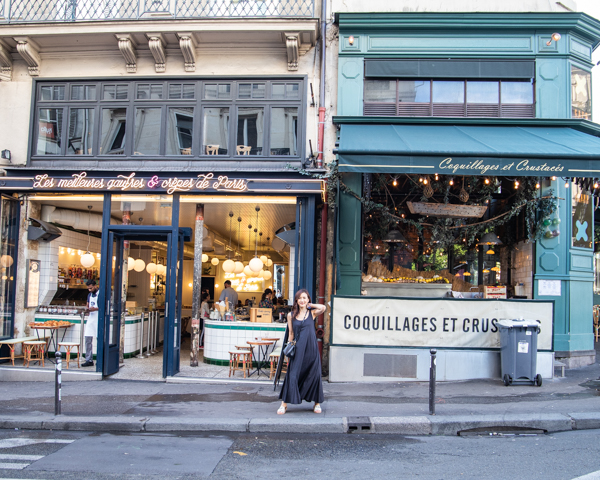 【パリカフェ】La Creme de Paris 〜パリの朝食はクレープ屋さん