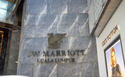 【マレーシア】JWマリオット・ホテル・クアラルンプールでホテルライフ