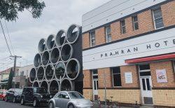 【メルボルン】土管の中で食事するレストランPrahran Hotel